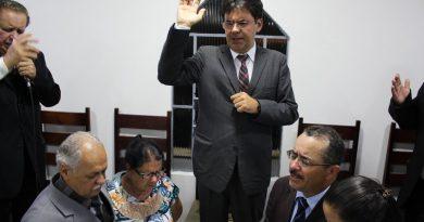 TRANSIÇÃO DE PASTORES NA IEAD-BAIRRO SANTA CRUZ